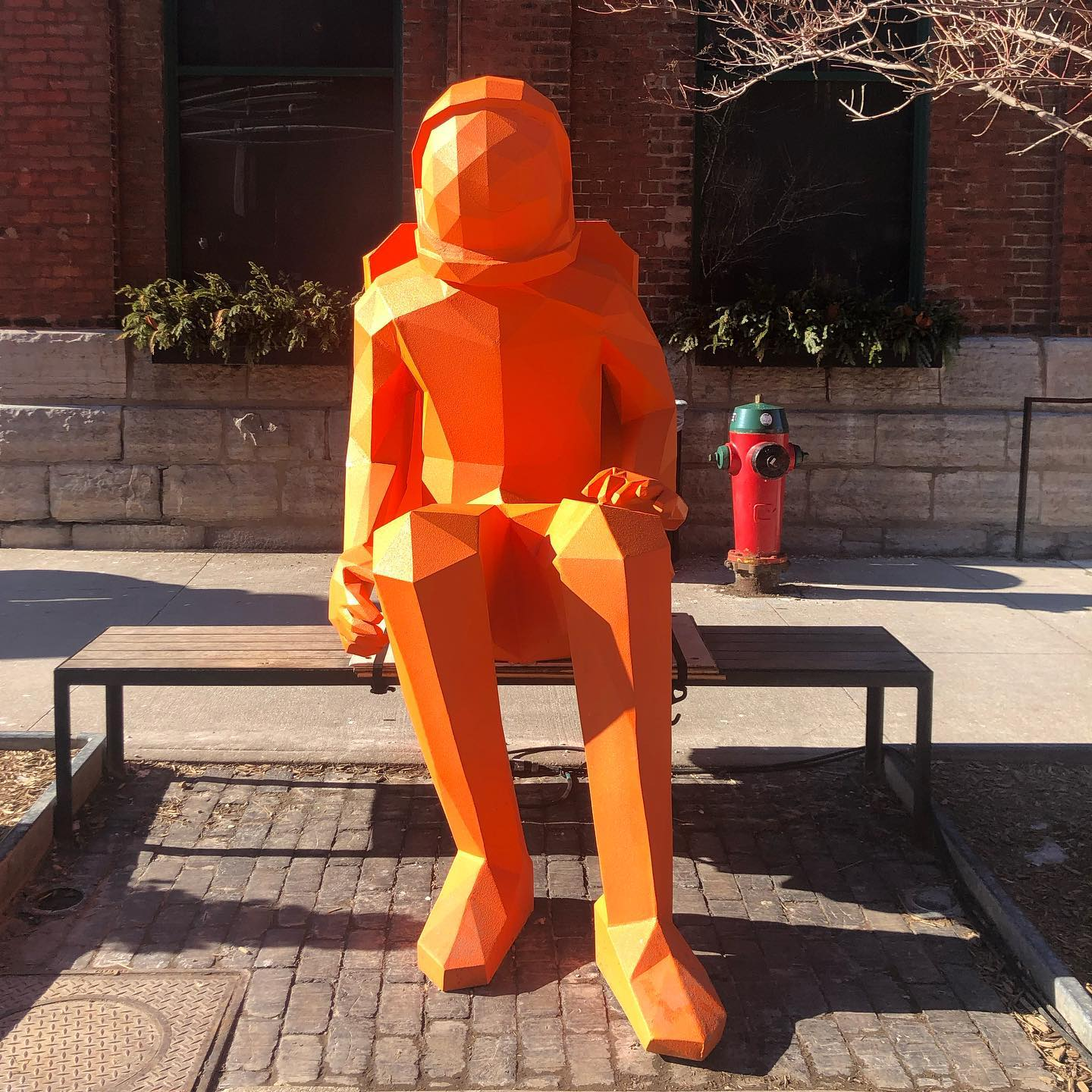 We recently popped by the Distillery District to check out the public art on display. Our fav was definitely the Sydmonauts commissioned by Amigo & Amigo — a Sydney based sculpture & design studio. Go check it out before it closes on March 1!