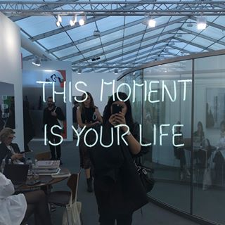 "Jeppe Hein, ""This Moment Is Your Life"" #GZtravels"