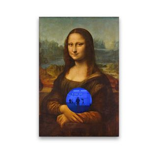 Gazing Ball (da Vinci Mona Lisa) by Jeff Koons | A look behind the inception of @sofiayorkville